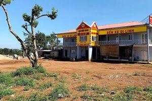 Hàng loạt sai phạm tại khu 'đất vàng' bến xe Di Linh