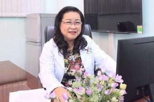 PGS-TS Nguyễn Thị Ngọc Dung làm Chủ tịch Hội Y học TPHCM