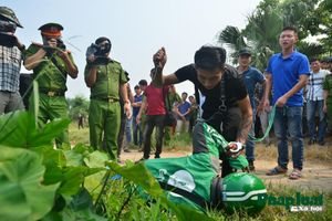 Thực nghiệm hiện trường vụ án giết tài xế grab tại Hà Nội