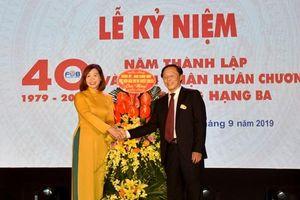 Khoa Phát thanh - Truyền hình Học viện Báo chí và Tuyên truyền kỷ niệm 40 năm thành lập