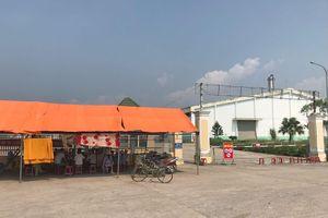 Quảng Nam: Dân dựng lều phản đối nhà máy cồn gây ô nhiễm