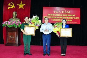 Hưng Yên: Nâng cao chất lượng công tác tham mưu, giúp việc cấp ủy thực hiện Chỉ thị 05