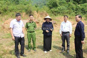 Phó Chủ tịch Thường trực Quốc hội Tòng Thị phóng thị sát tại xã Xuân Nha, huyện Vân Hồ, tỉnh Sơn La