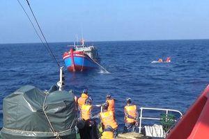 Tàu Trung Quốc từ chối cứu hộ tàu ngư dân Việt ở Hoàng Sa: Biên phòng Quảng Nam thông tin chính thức