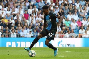 HLV Club Brugge thất vọng với pha bắt việt vị sai của trọng tài