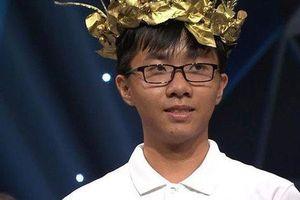 Lập 3 kỷ lục tại 'Đường lên đỉnh Olympia', Nguyễn Bá Vinh được khen thưởng