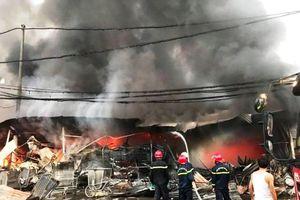 Cháy chợ Còng, Thanh Hóa: Hàng trăm tiểu thương trắng tay