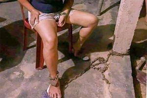 Xác minh vụ chồng xích chân vợ vào cột nhà ở Thừa Thiên - Huế