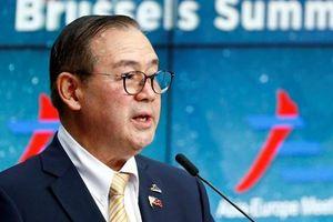 Philippines trao công hàm phản đối tàu Trung Quốc áp sát bãi Cỏ Mây