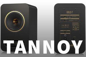 Tannoy tái xuất series huyền thoại monitor Gold 5, 7 và 8 - Thiết kế active, không có driver 15in