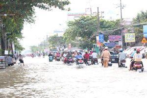 Nước ngập thành phố, trước hết tại chính con người