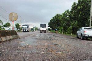 Trước 5/10, sửa chữa triệt để hư hỏng QL1 qua hai tỉnh Bình Định, Phú Yên