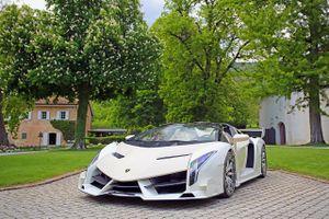 Siêu xe Lamborghini tịch thu từ trùm độc tài được bán giá gây 'choáng'