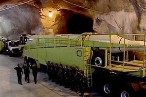 Iran khoe có kho vũ khí ngầm tinh vi dưới lòng đất giữa lúc nhạy cảm