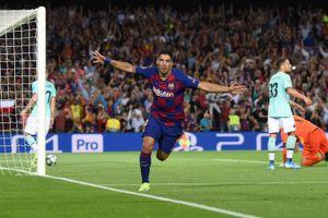 Suarez lập cú đúp, Barcelona ngược dòng hạ Inter tại Nou Camp