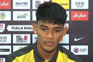 Tiền đạo Malaysia: 'Việt Nam tiến bộ sau chức vô địch AFF Cup'
