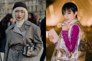 Châu Bùi và Khánh Linh ăn mặc thế nào khi cùng dự show Louis Vuitton?