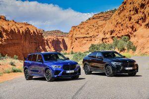 Chiêm ngưỡng bộ đôi BMW X5 và X6 với bản hiệu suất cao M-Series