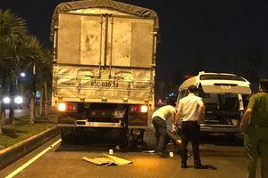 Tông ôtô tải dừng giữa đường, tài xế xe máy tử vong