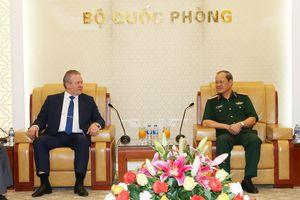 Thượng tướng Bế Xuân Trường tiếp Phó giám đốc Cơ quan Liên bang Nga về hợp tác kỹ thuật quân sự