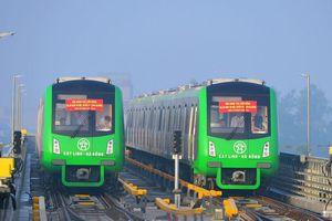 Ðường sắt Cát Linh - Hà Ðông: Chưa thể khẳng định bao giờ tàu chạy