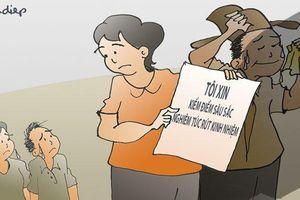 Vì sao vợ ông Triệu Tài Vinh 'không biết con được nâng điểm' mà vẫn bị kiểm điểm
