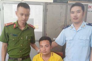 Hải quan Nghệ An bắt đối tượng vận chuyển 4 kg nghi là ma túy đá