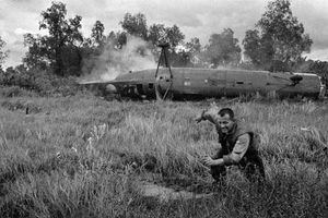 Máy bay Mỹ tan xác khi tham chiến tại Việt Nam