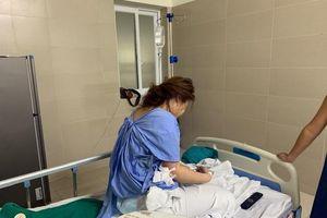 Cấp cứu vì hút mỡ bụng để nâng ngực tại thẩm mỹ viện không phép