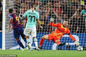 Kết quả Cúp C1: Suarez lập cú đúp, Barca ngược dòng hạ Inter Milan