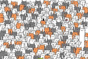 Chỉ 1% người thông minh và tinh mắt mới tìm ra con thỏ trốn trong bức tranh này