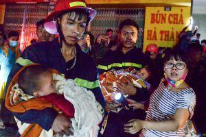 Những khoảnh khắc xúc động về các chiến sỹ cảnh sát PCCC và Cứu nạn cứu hộ