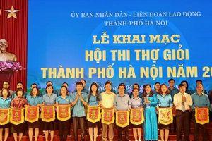 250 người lao động tham gia Hội thi Thợ giỏi TP Hà Nội