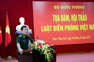 Bộ Quốc phòng tổ chức tọa đàm, hội thảo Luật Biên phòng Việt Nam
