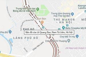 Hà Nội: Cấm đường để thi công đường đua F1