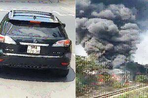 Cảnh sát cứu hỏa phát loa xin đường, tài xế Lexus vẫn ngang ngược chặn đầu