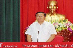 Bám sát Chỉ thị 35, linh hoạt trong xây dựng báo cáo chính trị Đảng bộ Hà Tĩnh khóa XIX