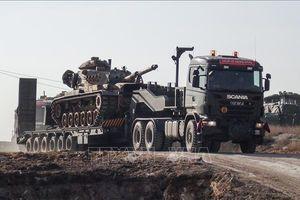 Mỹ - Thổ Nhĩ Kỳ tuần tra chung trên bộ tại 'vùng an toàn' ở Syria