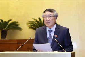 Đồng chí Nguyễn Hòa Bình tiếp xúc cử tri tại Quảng Ngãi