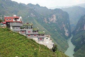 Nhà nghỉ 7 tầng xây dựng trái phép trên đỉnh Mã Pì Lèng: Chính quyền vào cuộc