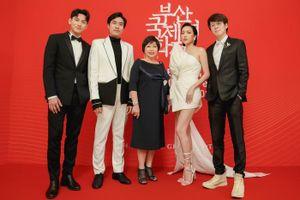 Isaac sánh vai cùng Diệu Nhi - Kiều Minh Tuấn tham dự LHP Busan, 'Anh trai yêu quái' đạt bước đầu thành công tại Hàn Quốc