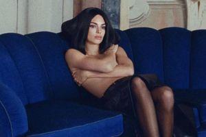 Không tham gia Paris Fashion Week, Kendall Jenner bán khỏa thân cho loạt hình thời trang