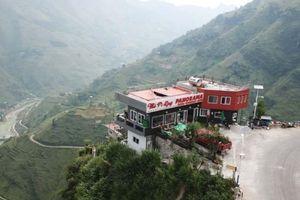 Nhà hàng, nhà nghỉ cao 7 tầng 'mọc' lên trên đèo Mã Pí Lèng chưa được cấp phép xây dựng