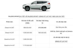 Mitsubishi Pajero Sport 2020 ra mắt Philippines, cận kề ngày về Việt Nam