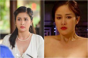 Thảo Trang - vợ cũ cầu thủ Phan Thanh Bình gây sốc với cảnh nóng trong 'Tiếng sét trong mưa'