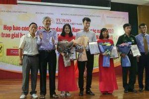 Giải báo chí Tự hào Nông dân Việt Nam 2018-2019: 11 tác phẩm nổi bật thổi hồn câu chuyện người làm nông