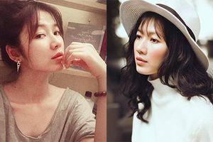 Nhan sắc hao hao Song Hye Kyo của Oanh Kiều 'Tiếng sét trong mưa'