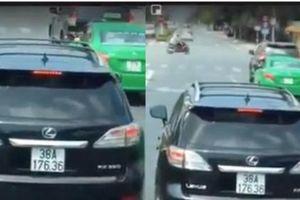 Tước bằng lái xe 2 tháng tài xế Luxus không nhường đường cho xe cứu hỏa