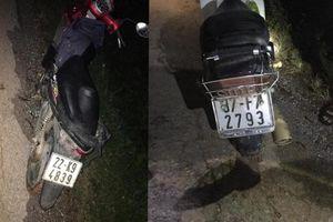 Hà Giang: Trộm trâu bất thành, 'đạo chích' bỏ xe và giấy tờ tùy nhân