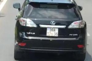 Tài xế xe Lexus nói gì về hành động chặn đầu xe cứu hỏa?